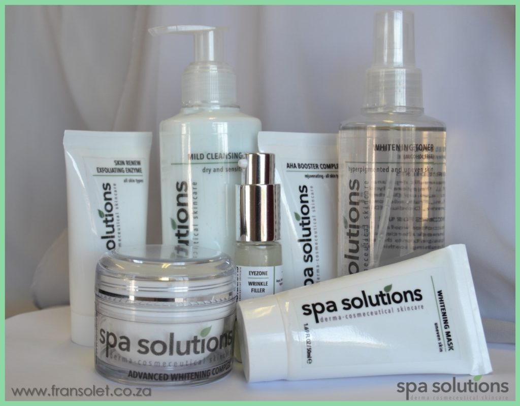 Spa solutions Group Whitening 2